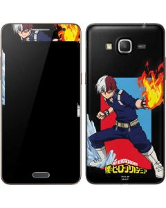 Shoto Todoroki Galaxy Grand Prime Skin