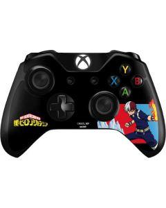 Shoto Todoroki Xbox One Controller Skin