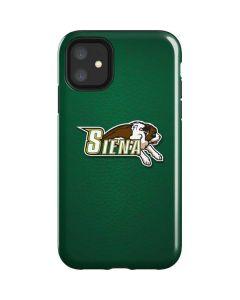 Siena College Green iPhone 11 Impact Case