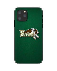 Siena College Green iPhone 11 Pro Skin
