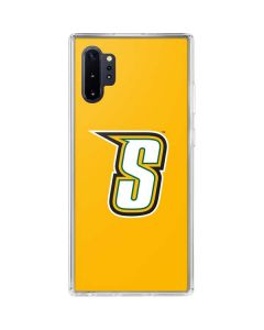 Siena College Yellow Galaxy Note 10 Plus Clear Case