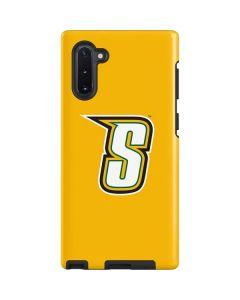 Siena College Yellow Galaxy Note 10 Pro Case