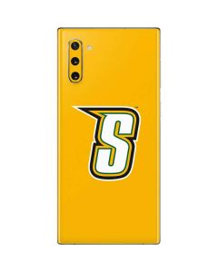 Siena College Yellow Galaxy Note 10 Skin