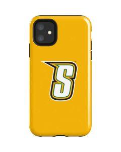 Siena College Yellow iPhone 11 Impact Case