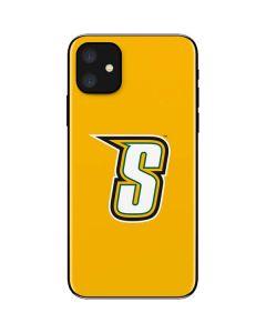 Siena College Yellow iPhone 11 Skin