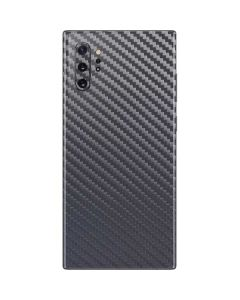 Silver Carbon Fiber Galaxy Note 10 Plus Skin