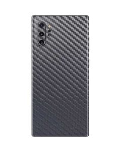 Silver Carbon Fiber Galaxy Note 10 Plus Skin