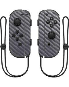 Silver Carbon Fiber Nintendo Joy-Con (L/R) Controller Skin