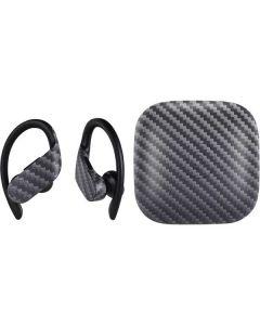 Silver Carbon Fiber PowerBeats Pro Skin