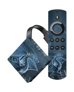 Silver Dragon Amazon Fire TV Skin