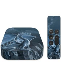 Silver Dragon Apple TV Skin