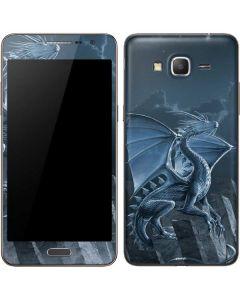 Silver Dragon Galaxy Grand Prime Skin