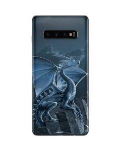 Silver Dragon Galaxy S10 Plus Skin