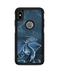 Silver Dragon Otterbox Commuter iPhone Skin