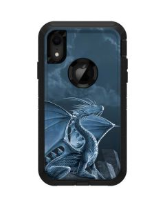 Silver Dragon Otterbox Defender iPhone Skin