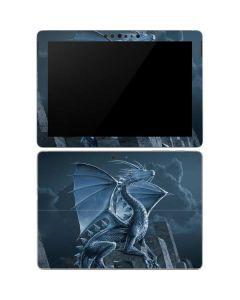 Silver Dragon Surface Go Skin