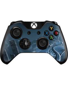 Silver Dragon Xbox One Controller Skin