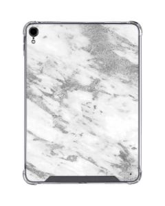 Silver Marble iPad Pro 11in (2018-19) Clear Case