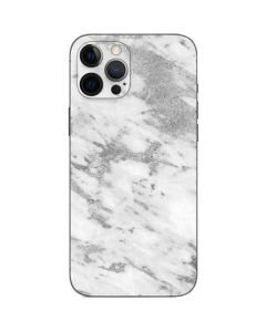 Silver Marble iPhone 12 Pro Skin