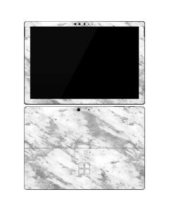 Silver Marble Surface Pro 7 Skin