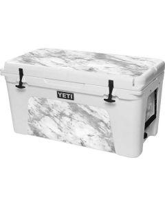 Silver Marble YETI Tundra 75 Hard Cooler Skin