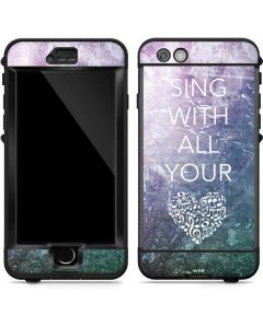Sing With All Your Heart LifeProof Nuud iPhone Skin
