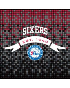 Philadelphia 76ers Pixels Apple TV Skin