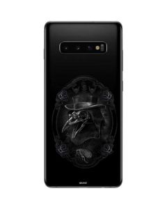 Skeleton with Top Hat Galaxy S10 Plus Skin