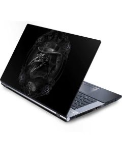 Skeleton with Top Hat Generic Laptop Skin