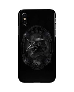 Skeleton with Top Hat iPhone XS Max Lite Case
