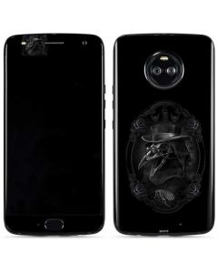 Skeleton with Top Hat Moto X4 Skin