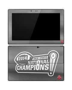 Football Champions Ohio State 2014 Surface RT Skin