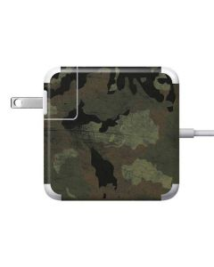 Hunting Camo 85W Power Adapter (15 and 17 inch MacBook Pro Charger) Skin