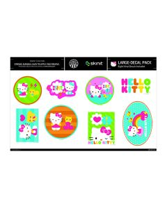 Hello Kitty Bright Colors Large Decal Pack