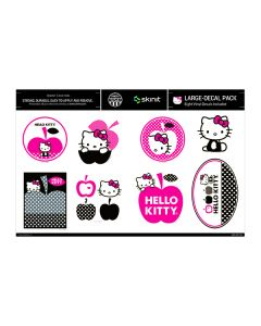 Hello Kitty Red & Black Apples Large Decal Pack