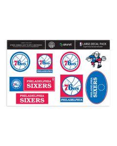 Philadelphia 76ers Large Decal Pack