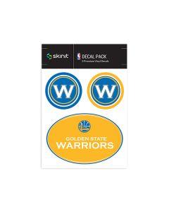 Golden State Warriors Medium Decal Pack