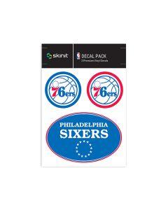 Philadelphia 76ers Medium Decal Pack