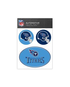 Tennessee Titans Medium Decal Pack