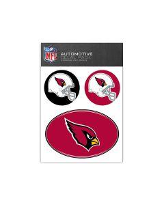 Arizona Cardinals Medium Decal Pack
