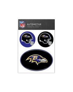 Baltimore Ravens Medium Decal Pack