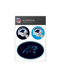 Carolina Panthers Medium Decal Pack