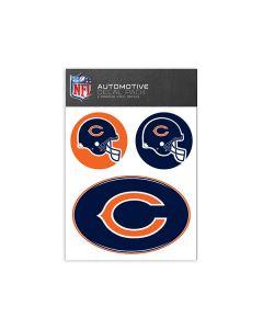 Chicago Bears Medium Decal Pack