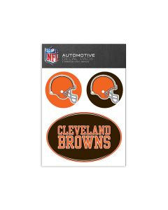Cleveland Browns Medium Decal Pack