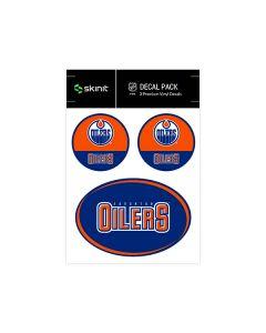Edmonton Oilers Medium Decal Pack