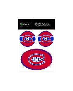 Montreal Canadiens Medium Decal Pack
