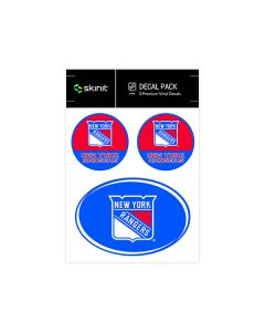 New York Rangers Medium Decal Pack