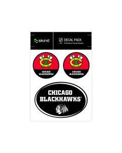 Chicago Blackhawks Medium Decal Pack