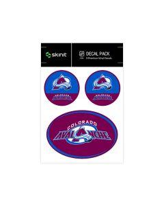 Colorado Avalanche Medium Decal Pack
