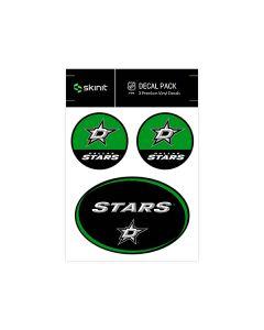 Dallas Stars Medium Decal Pack